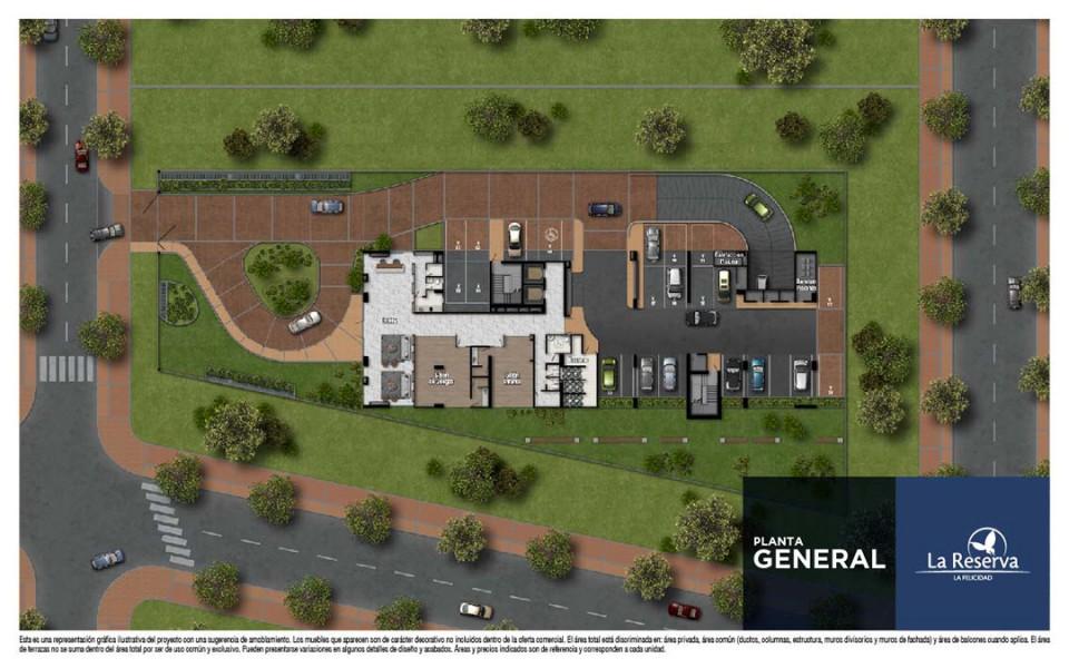 La Reserva - Constructora colpatria - Planta General