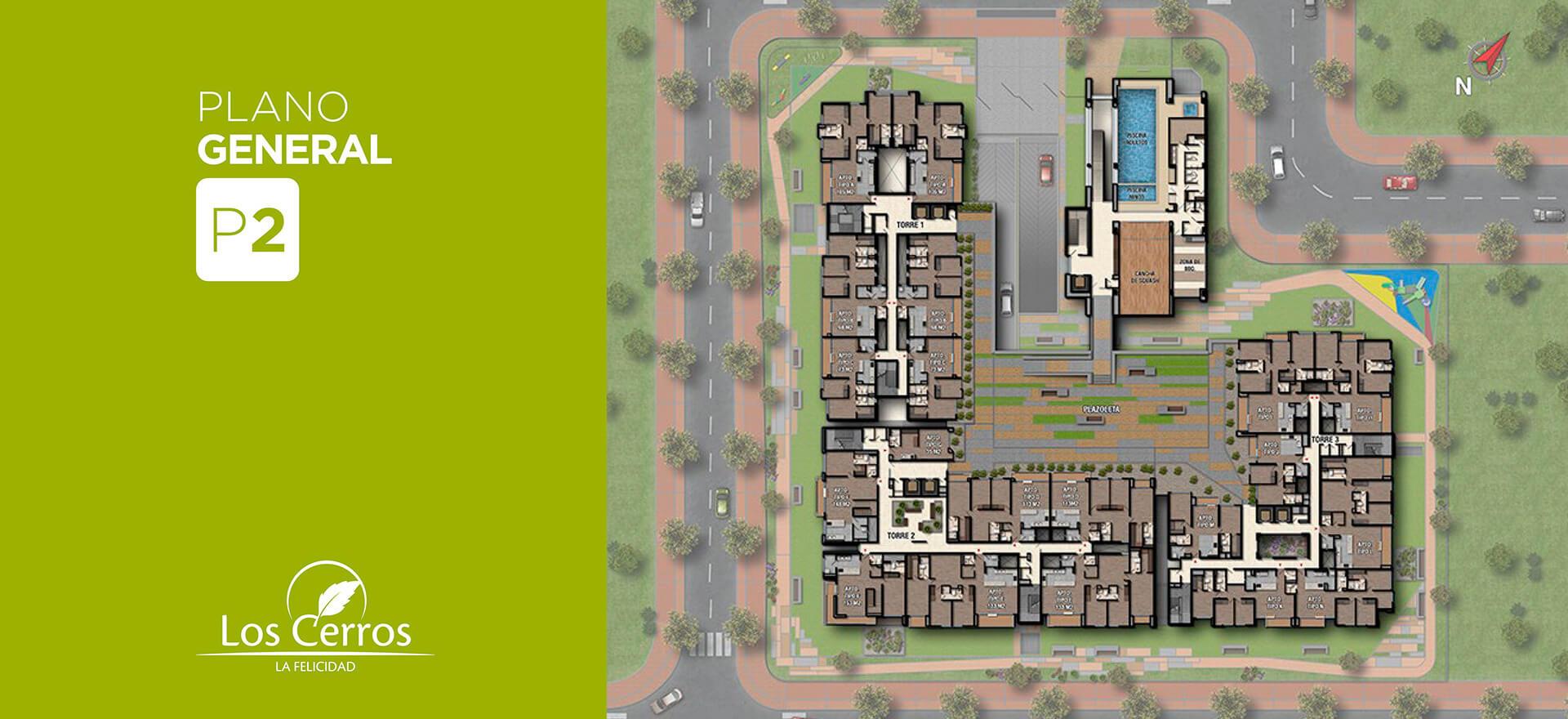 Los Cerros - Constructora colpatria - Plano Apto